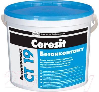 Грунтовка Ceresit CT 19 Бетонконтакт (10л)