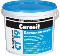 Грунтовка Ceresit CT 19 Бетонконтакт (5л) -