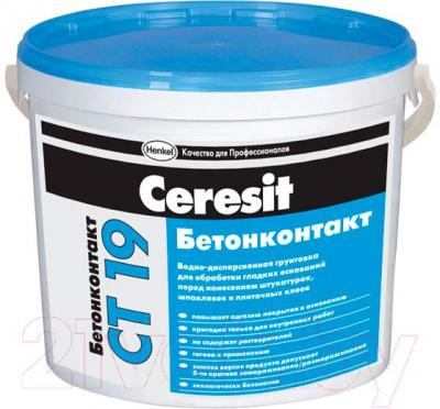 Грунтовка Ceresit CT 19 Бетонконтакт (2л)