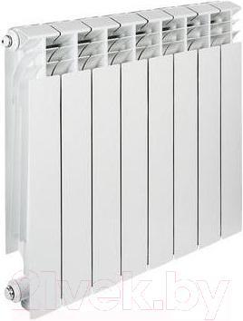Радиатор алюминиевый Tenrad 350/100 (8 секций)