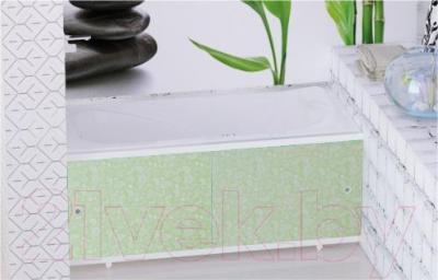 Экран для ванны МетаКам Кварт 1.68 (зеленый иней)