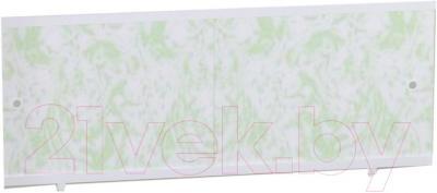 Экран для ванны МетаКам Кварт 1.68 (мрамор зеленый)