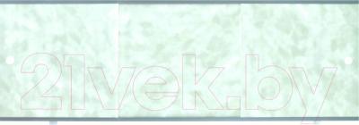 Экран для ванны МетаКам Премиум А 1.68 (зеленые облака)