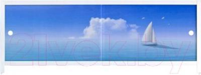 Экран для ванны МетаКам Ультра легкий АРТ 1.48 (парус)