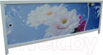 Экран для ванны МетаКам Ультра легкий АРТ 1.48 (цветочная элегия)