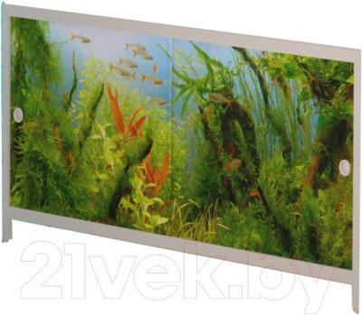 Экран для ванны МетаКам Ультра легкий АРТ 1.68 (аквариум)