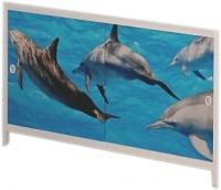 Экран для ванны МетаКам Ультра легкий АРТ 1.68 (дельфины) -