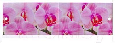 Экран для ванны МетаКам Ультра легкий АРТ 1.68 (дикая орхидея)