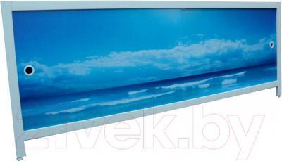 Экран для ванны МетаКам Ультра легкий АРТ 1.68 (морской бриз)