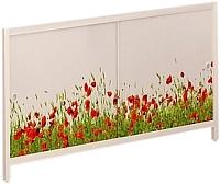Экран для ванны МетаКам Ультра легкий АРТ 1.68 (цветочная элегия) -