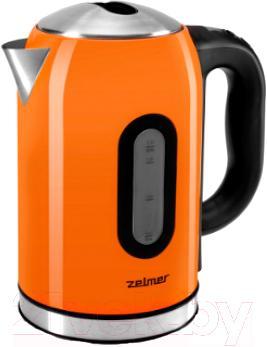 Электрочайник Zelmer ZCK1174M/CK1500 (оранжевый)