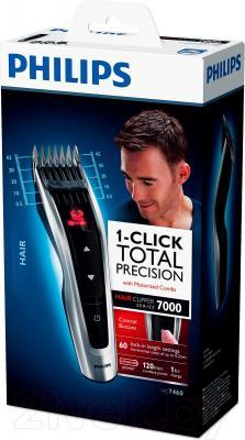 Машинка для стрижки волос Philips HC7460/15 - коробка