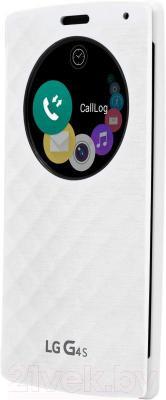 Чехол-книжка LG CFV-110AGRAWH (белый) - общий вид