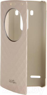 Чехол-книжка LG CFV-110AGRAGD (золото) - общий вид