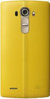 Чехол-бампер LG CPR-110AGRAYW (желтый) - общий вид