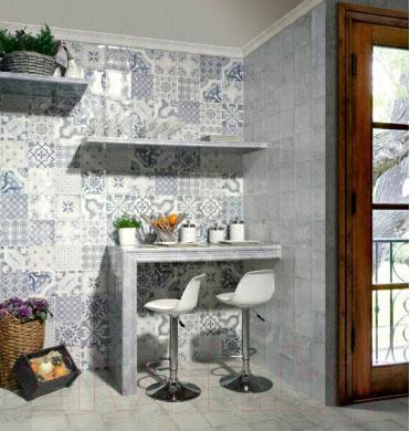 Декоративная плитка для ванной Mainzu Milano Daman Beige (200x200)