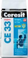 Фуга для плитки Ceresit CE 33 (2кг, серый) -