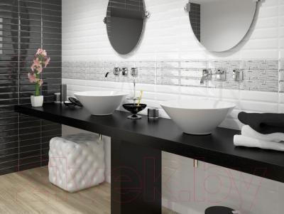 Плитка для стен кухни Equipe Metro White (150x75)