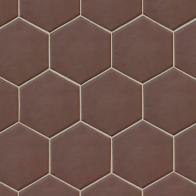 Плитка для пола Equipe Hexatile Marrone Matt P (200x175)