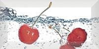 Декоративная плитка для кухни Monopole Aqua Cherry (200x100) -
