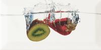 Декоративная плитка для кухни Monopole Aqua Kiwi (200x100) -