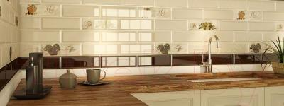 Декоративная плитка для кухни Monopole Dolce Vita Tea (300x100)