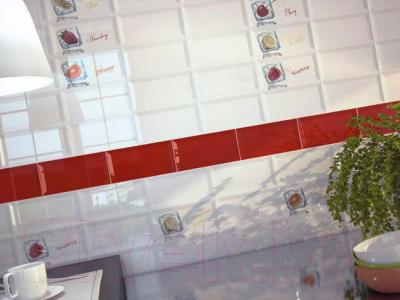 Декоративная плитка Monopole Ice Strauberry (200x100)