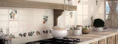 Декоративная плитка для кухни Monopole Provence Orange (200x200)