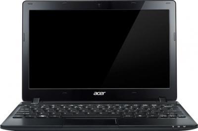 Ноутбук Acer Aspire One 725-C6Ckk (NU.SGPEU.008) - фронтальный вид