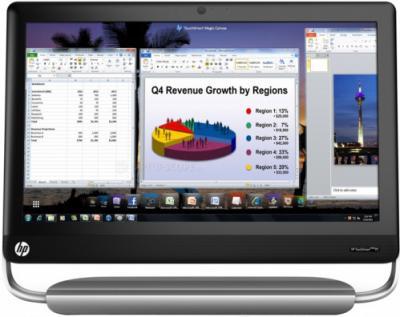 Моноблок HP TouchSmart Elite 7320 (LH185EA) - фронтальный вид