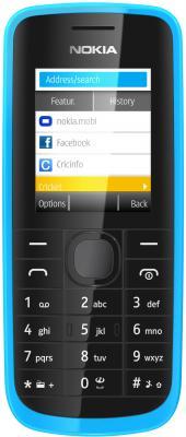Мобильный телефон Nokia 113 Cyan - общий вид