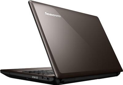 Ноутбук Lenovo G580 (59337385) - сбоку