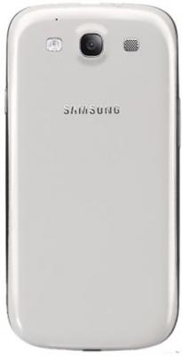 Смартфон Samsung Galaxy S3 / I9300 (белый) - вид сзади