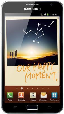 Смартфон Samsung N7000 Galaxy Note (32Gb) Gray (GT-N7000 ZBASER) - общий вид