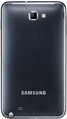 Смартфон Samsung N7000 Galaxy Note (32Gb) Gray (GT-N7000 ZBASER) - вид сзади