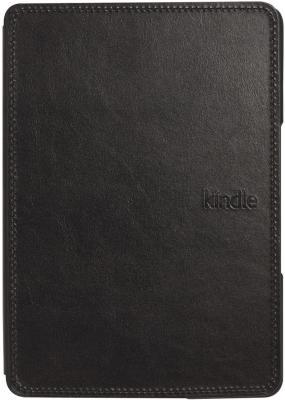 Обложка для электронной книги Amazon Kindle Touch Leather Cover Black - общий вид