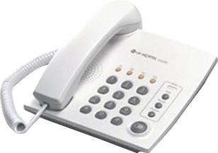 Телефон/факс LG Nortel LKA 200 - общий вид