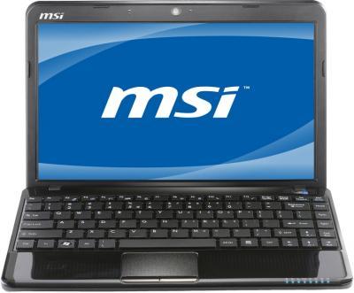 Ноутбук MSI U270-475XBY - спереди