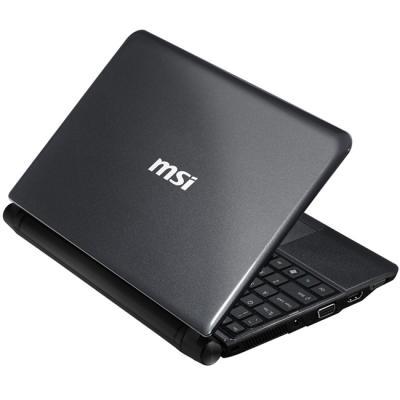 Ноутбук MSI U270-475XBY - сзади