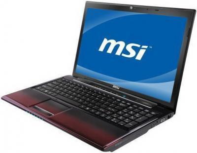 Ноутбук MSI CR650-453XBY - повернут