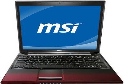 Ноутбук MSI CR650-452XBY - спереди