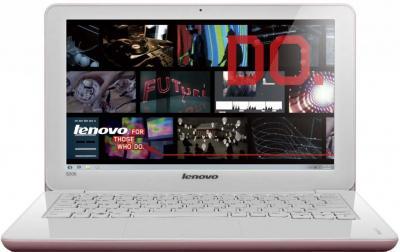 Ноутбук Lenovo IdeaPad S206 (59342436) - фронтальный вид