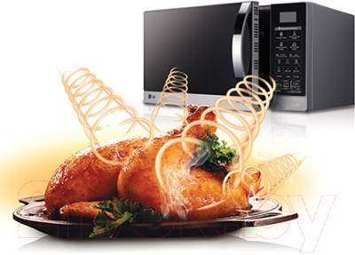 Микроволновая печь LG MB4042D - презентационное фото 2