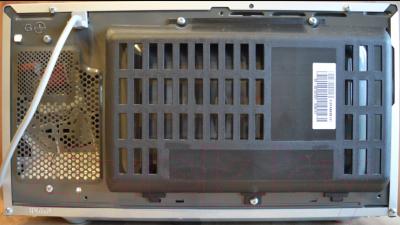 Микроволновая печь LG MB4342BS - вид сзади
