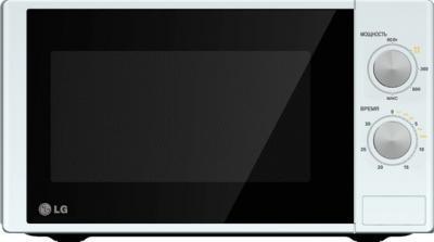 Микроволновка LG MS2022D - вид спереди