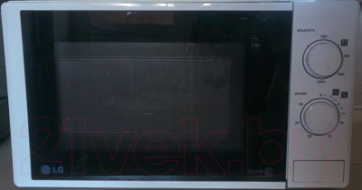 Микроволновая печь LG MS2022D - вид спереди