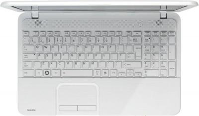 Ноутбук Toshiba Satellite C850-C1W (PSKC8R-0CK010RU) - сверху