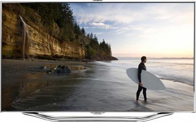 Телевизор Samsung UE55ES8007U - вид спереди