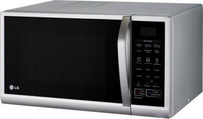 Микроволновка LG MG6349LMS - вполоборота