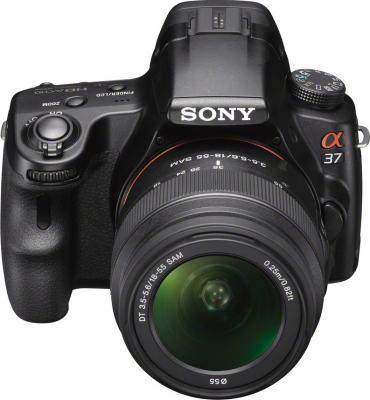 Зеркальный фотоаппарат Sony SLT-A37K - общий вид